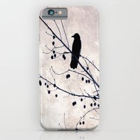 iPhone & iPod Case featuring Crow by Maite Pons