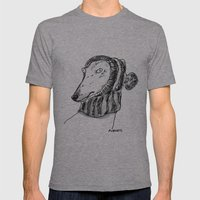 Winter Greyhound Mens Fitted Tee Athletic Grey SMALL