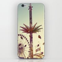 Golden Hour at the Carnival iPhone & iPod Skin