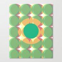 Circle colours  Canvas Print