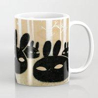 Suspicious Bunnies Mug