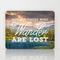 Not All Those Who Wander… Laptop & iPad Skin
