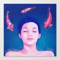 Science of Sleep Canvas Print