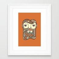 Goofy Framed Art Print