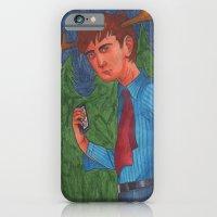 iPhone & iPod Case featuring Deer Boy by Anna Gogoleva