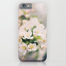 Flowers are the sweetest things iPhone 6 Slim Case
