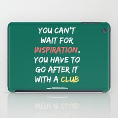 Go After Inspiration With A Club iPad Case