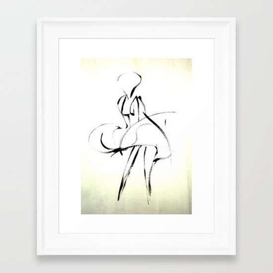 - Marilyn - Framed Art Print