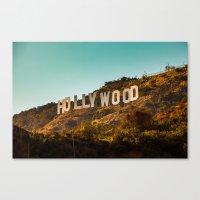 Hollywood Sign Canvas Print