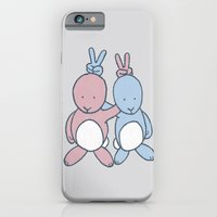 iPhone & iPod Case featuring Bunny Ears by Phil Jones