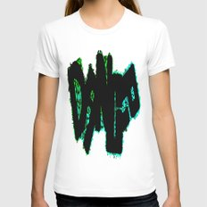 Dance Womens Fitted Tee White SMALL