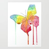 Art Print featuring Butterfly by Eric Weiand