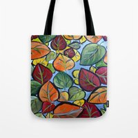 Autumn Painting Tote Bag