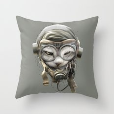 PILOTCAT Throw Pillow