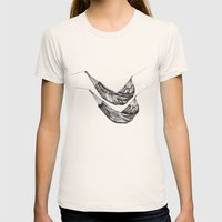 Check out my Hammocks! Womens Fitted Tee Natural SMALL