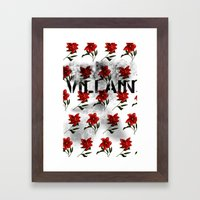 Vilain Framed Art Print