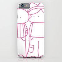 iPhone & iPod Case featuring Rosy Love by oekie