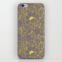 Simply June Yellow iPhone & iPod Skin