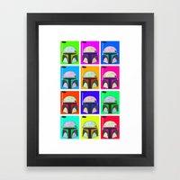 Boba-Hol Framed Art Print