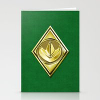 Green Ranger Stationery Cards