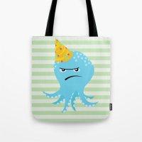 Squid of Partypooping Tote Bag