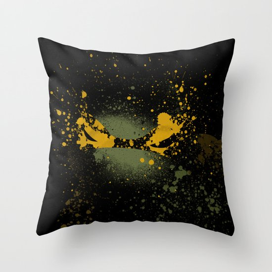 Mike Throw Pillow