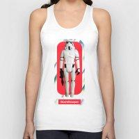 Stormtrooper : Vintage Kenner action figure Smaller Size Unisex Tank Top