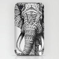 Ornate Elephant iPhone (3g, 3gs) Slim Case