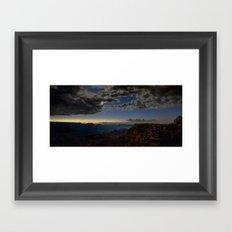 Grand Canyon National Park - Stars at South Rim Framed Art Print