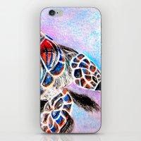 fire shell. iPhone & iPod Skin