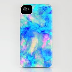 Electrify Ice Blue Slim Case iPhone (4, 4s)