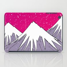 The mountains and the Snow iPad Case