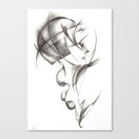 Hommage de Cloud Atlas Canvas Print
