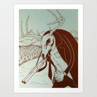 Like A Beer In Deadlight… Art Print