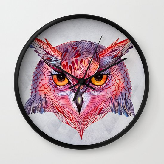 Owla owl Wall Clock