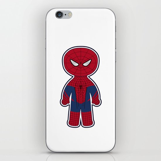 Chibi Spider-man iPhone & iPod Skin