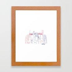 Vive la France! Framed Art Print