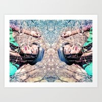Reflects Art Print