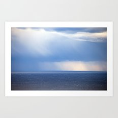 Sky and Sea 6635 Art Print