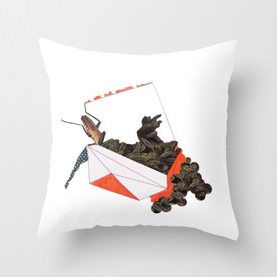 Beetle Box Throw Pillow