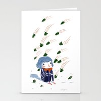 shooting trees Stationery Cards