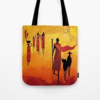 Maasai Tote Bag