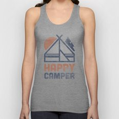 Happy Camper Unisex Tank Top