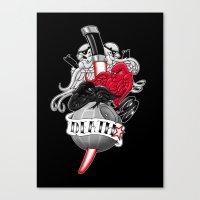 DeathStar Canvas Print