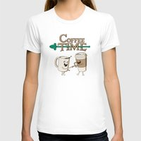 coffee T-shirts featuring Coffee Time! by powerpig