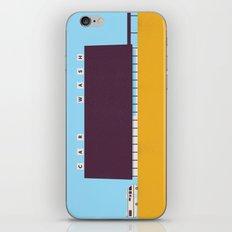 A1A Car Wash iPhone & iPod Skin