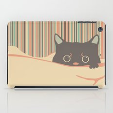 Kitty in the blanket iPad Case