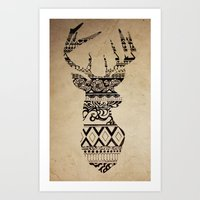 Oh Deer, Oh My Art Print