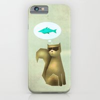 Fish and Chips iPhone 6 Slim Case
