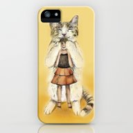 iPhone & iPod Case featuring Big Cat by Anna Shell